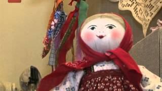 В Великом Новгороде открылась выставка кукол Людмилы Кудряшовой