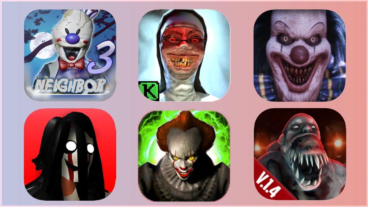 evil nun death park horror game gameplay full mask ending new update clown in real life walkthrough