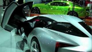 50th Anniversary Corvette Stingray Concept Videos