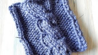 Today I shall be showing you a basic chunky cable stitch, which uses only purls and knit stitches, with one twist. I am so excited to get started in teaching you ...