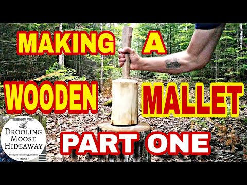 WOODEN MALLET DIY - Hand Tools Only! -Part 1