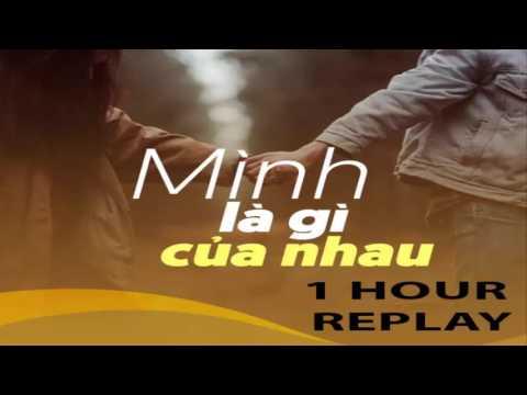 Mình Là Gì Của Nhau - Lou Hoàng | Video Lyrics | Nhạc trẻ mới