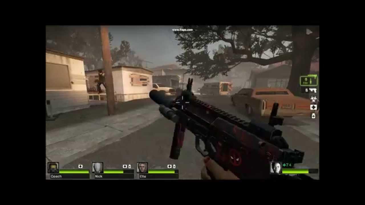 Fun with Left 4 Dead 2 Mods!!! (Steam Workshop)