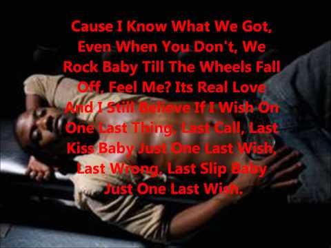 Ray J Last Wish lyrics