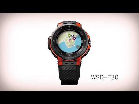 WSD-F30 Promotional Video(15sec.) | CASIO