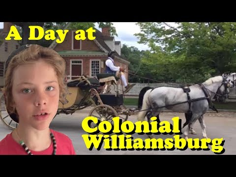 A Day at Colonial Williamsburg - Living History