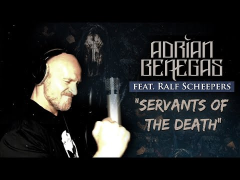 ADRIAN BENEGAS feat. RALF SCHEEPERS - Servants of the Death (LYRIC VIDEO)