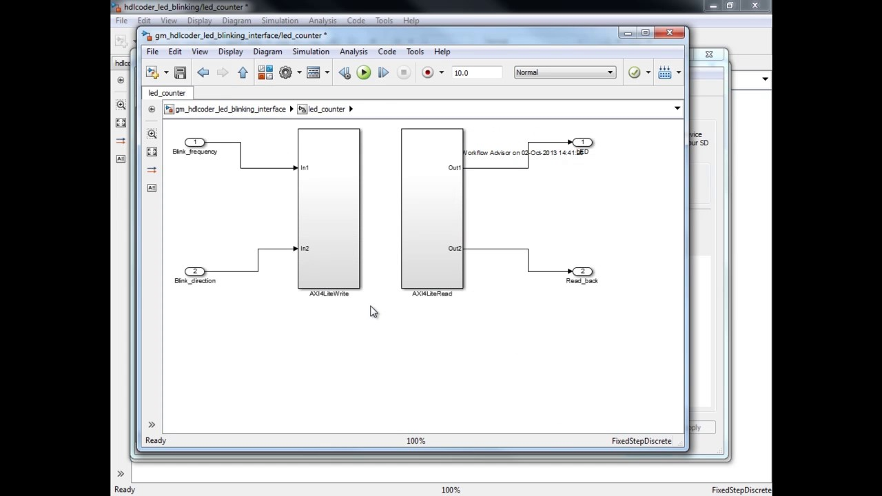 A Guided Workflow for Zynq Using MATLAB and Simulink
