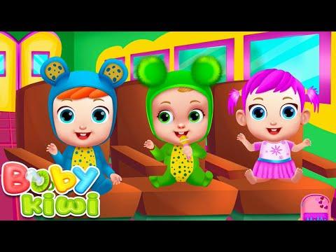 A Ram Sam Sam - Nursery Rhymes & Happy Songs - Baby Kiwi 🥝