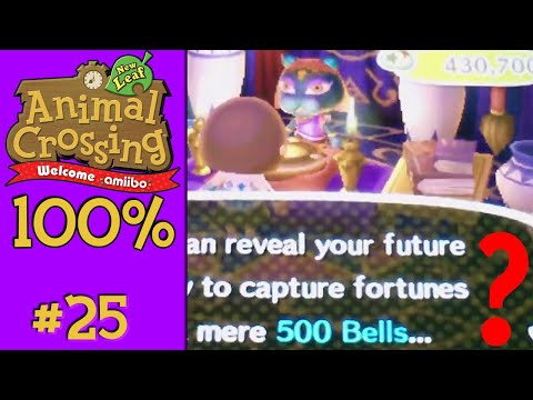 Animal Crossing: New Leaf 100% - #25: Unlocking the Fortune Shop... or not?