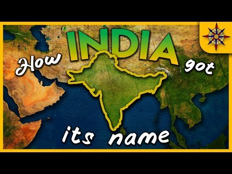 How India Got Its Name