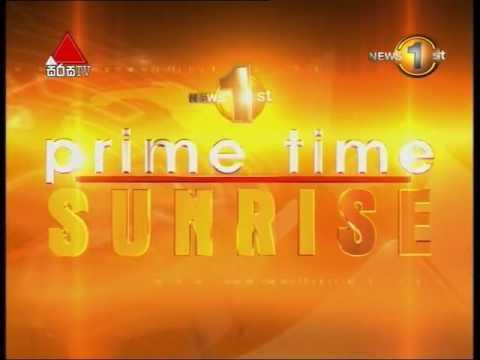 News 1st Prime time Sunrise Sirasa TV 27th September 2016