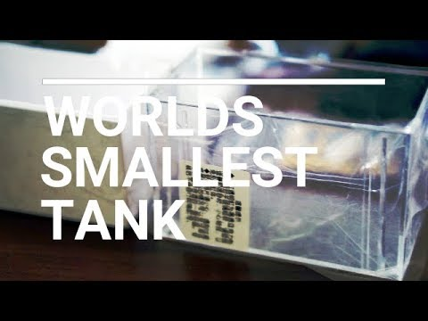 New Unboxing Of Worlds Official Smallest Aquarium Sump Youtube