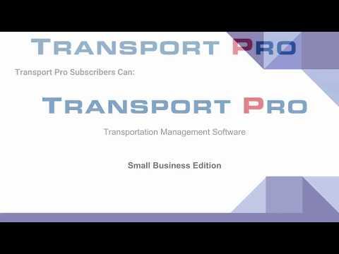 Transport Pro | Transportation Management System