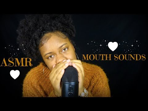 ASMR | Cupped CLOSE Wet Mouth Sounds + Tongue Fluttering (Tingles!!)