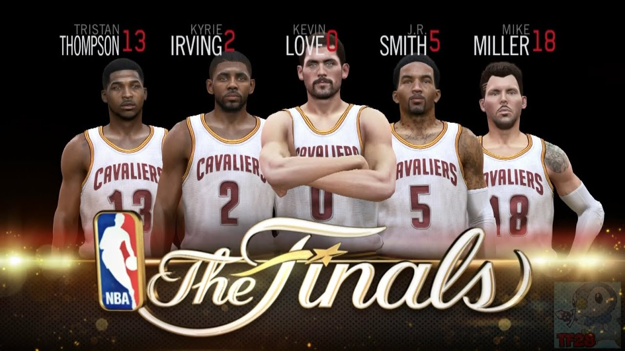 NBA Live 15 Finals Intro & Celebration - Cleveland ...
