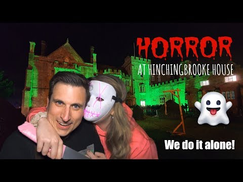 Horror At Hinchingbrooke House 2019 - Walkthrough - We Go In ALONE!! HE BIT MY NOSE!!