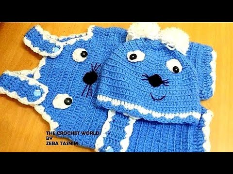 Crochet Baby Romper A Youtube