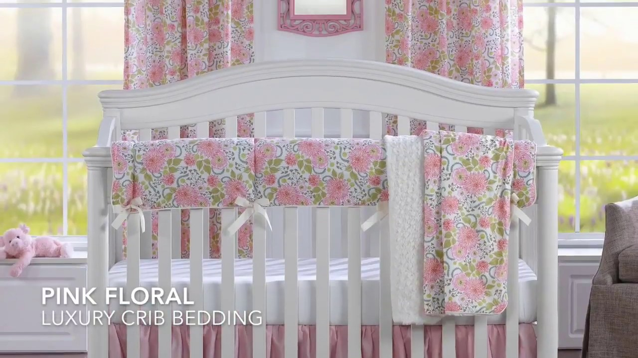 Top 10 Luxury Crib Bedding Sets - YouTube