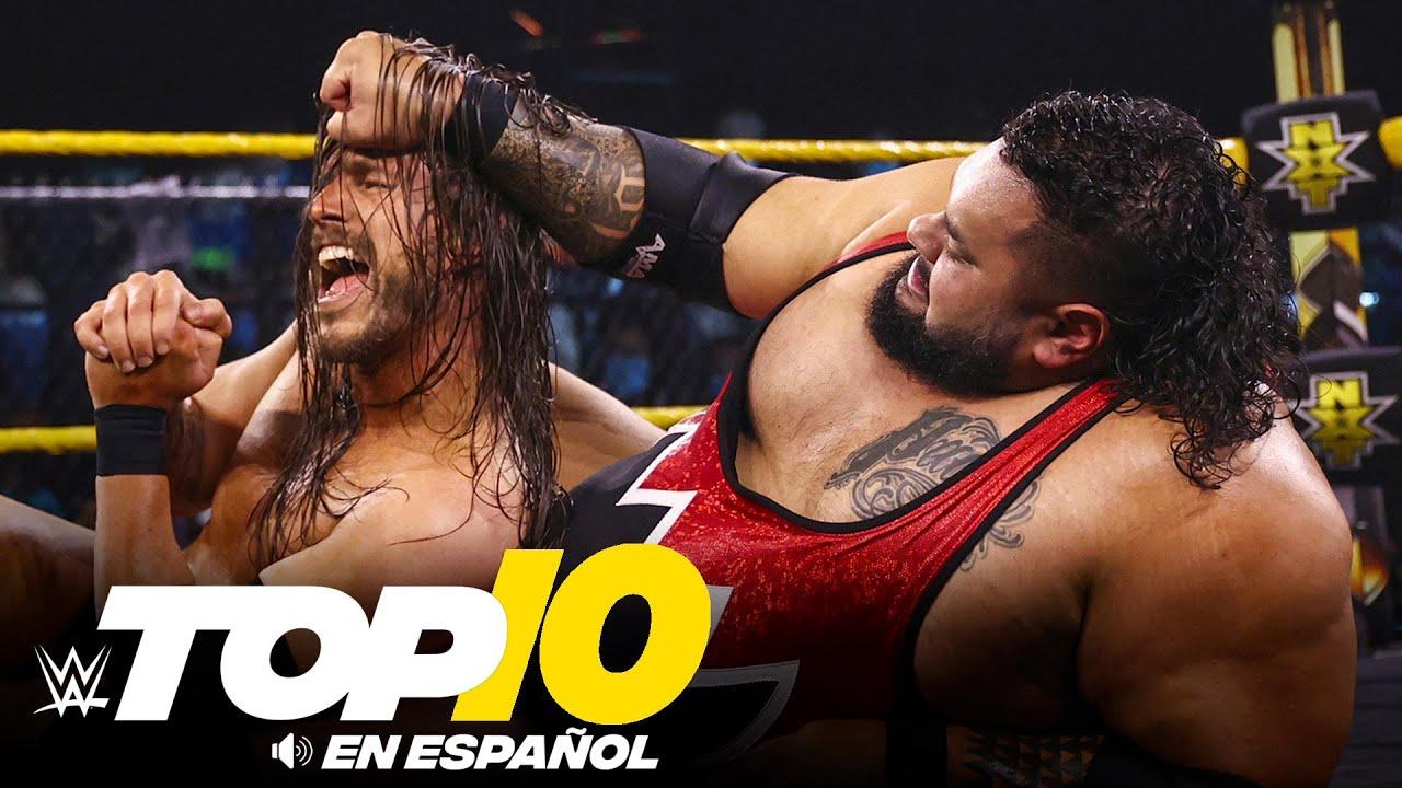 Top 10 Mejores Momentos de NXT: WWE Top 10, Jul 27, 2021