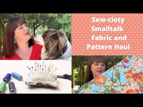 Sewciety Smalltalk Last Fabric And Pattern Haul For 2019 BIG 4 VOGUE PATTERNS