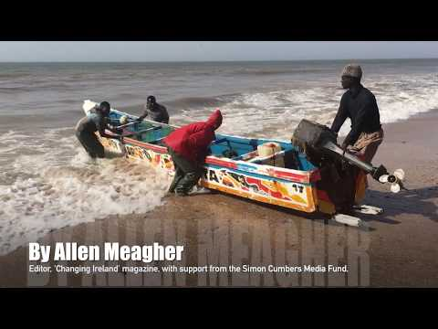 Fishing by Pirogue, The Gambia - 1 day in 1 minute