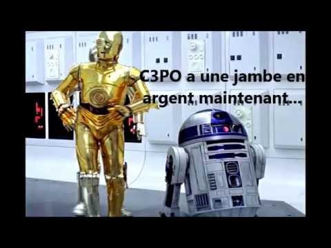 Effet Mandela - Star Wars - C3PO et sa jambe en argent