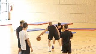Hatem Ben Arfa et Mathieu Bodmer régalent au basket