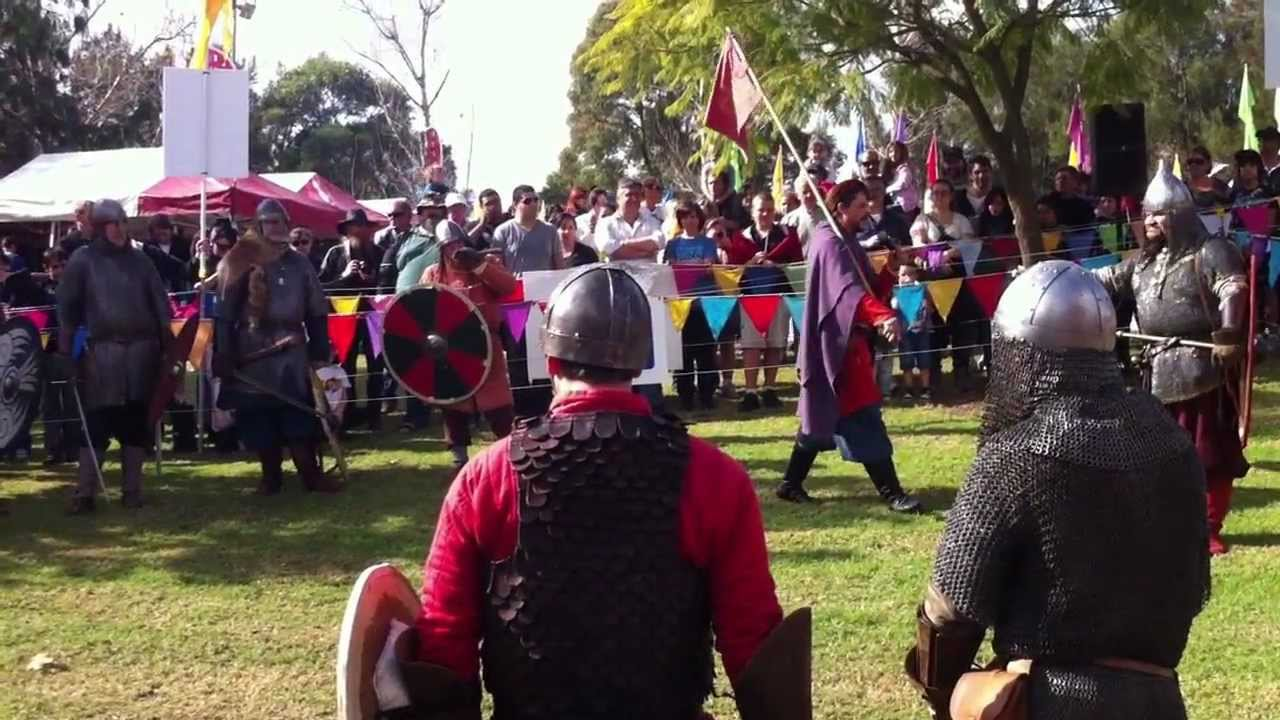 The New Varangian Guard - Blacktown Medieval Festival 2012