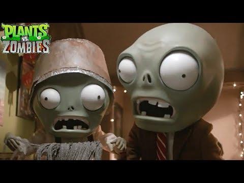 Holiday Special  Real Life Plants Vs Zombies PVZ HD Short Mini Movie