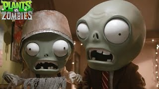 Holiday Special - Real Life Plants Vs Zombies PVZ HD Short Mini Movie thumbnail