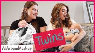 We Adopted Twin Babies - Gender Reveal! / AllAroundAudrey