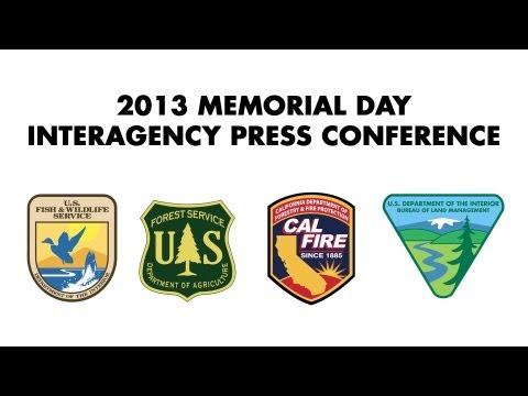 2013 Memorial Day Interagency Press Conference