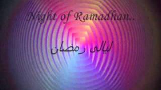 Ep01   welcome o ramadan (Zain Bhikha ) with lyrics on screen translated into arabic