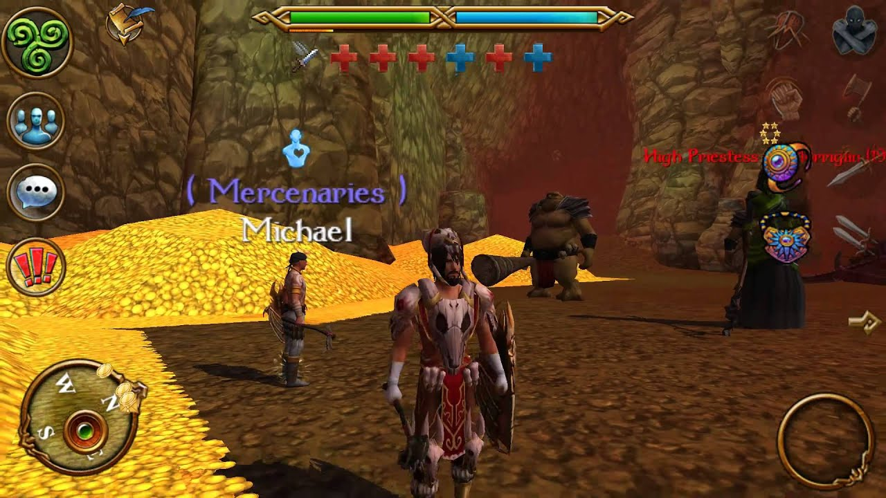 celtic heroes android mordis s cave and bosses youtube