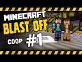 Hardcore Minecraft Blast Off Coop - 1 - DANGER - (Modded Minecraft HQM)