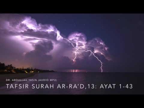 Tafsir Surah Ar-Ra'd,13: Ayat 1-43