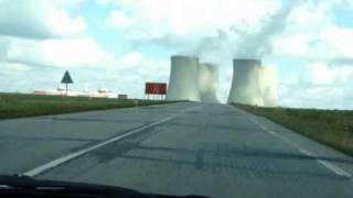 Czechy (18) Temelin - elektrownia atomowa 6.09.2009