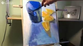 Натюрморт с апельсинами уроки живописи Макс СкоблинскийІ Skoblinsky