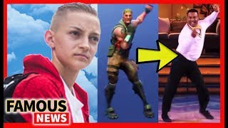 Backpack Kid Joins Alfonso Ribeiro 'Carlton' in Suing Fortnite, Lil Pump Racist controversy & more