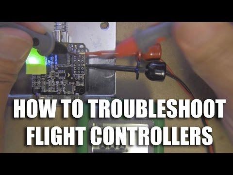 Flight Controller Repair Series - Troubleshooting Naze32, SP3 Racing boards