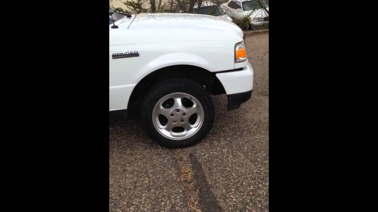 2011 Ford Ranger With 1994 Mustang Cobra Wheels Youtube