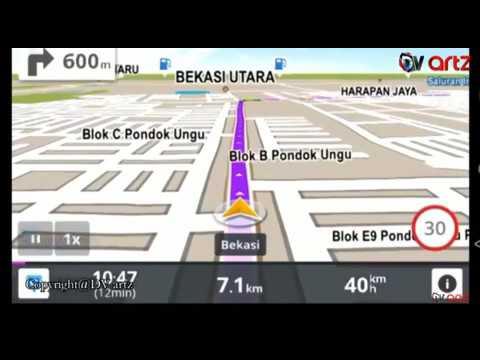 GPS marah marah ke janda hahaha
