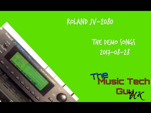 Roland JV-2080 - The Demo Songs