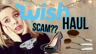 WISH APP HAUL AND REVIEW!