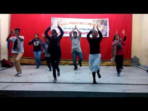 ROCKAANKUTHU dance BY WEST DELHI MCYM TROOPS.......