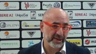 30-10-2016: #A2MVolley Pino Lorizio nel post NewMater-Alessano 3-0