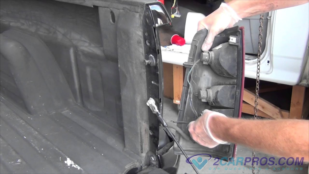 Reverse Light Bulb Replacement Chevrolet Silverado 2000 2007   YouTube