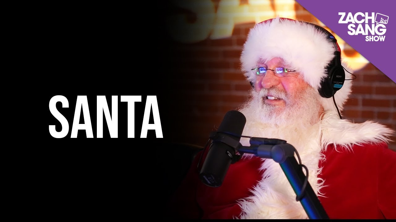 Santa talks Christmas, Traveling the world in one night, and Donald Trump