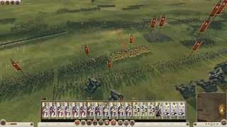 Rome 2  TW Germanic Tribes Fight